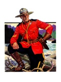 """Canadian Mountie ""March 25  1933"