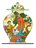 """Oriental Vase ""April 5  1930"