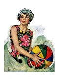 """Bathing Beauty and Beach Ball ""August 7  1926"