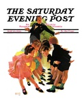 """Cotillion "" Saturday Evening Post Cover  May 23  1936"
