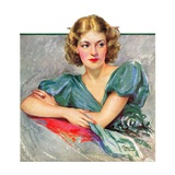 """Woman in Teal ""March 11  1933"