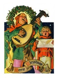 """Christmas Minstrels ""December 21  1929"