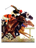 """Thoroughbred Race ""August 4  1934"