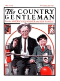 """At the Circus with Grandfather "" Country Gentleman Cover  May 5  1923"
