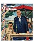 """""""Buy War Bonds """" Country Gentleman Cover  July 1  1944"""