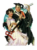 """Graduating Couple ""June 11  1927"