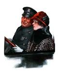 """Police Escort ""March 15  1924"