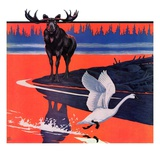 """Moose and White Goose ""March 23  1935"