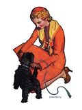 """Woman and Scottie ""April 16  1932"