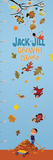 Jack and Jill - Autumn Leaves Growth Chart