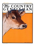 """Dairy Cow "" Country Gentleman Cover  May 12  1923"