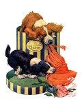 """Dogs Eating Hat ""July 14  1928"
