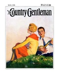 """Hillside Serenade "" Country Gentleman Cover  May 1  1928"