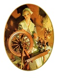 """Spinning Wheel ""March 14  1931"
