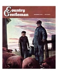 """Slopping the Pigs "" Country Gentleman Cover  November 1  1942"