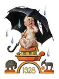 """Raining on Baby New Year ""December 31  1927"