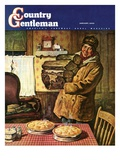 """Eyeing the Pies "" Country Gentleman Cover  January 1  1945"