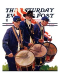 """War Veterans "" Saturday Evening Post Cover  June 1  1935"