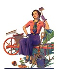 """Geranium Gardener ""May 1  1937"