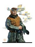 """Biplane Pilot ""October 9  1926"