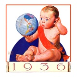 """Baby New Year 1936 ""January 1  1936"
