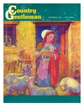"""Sheep in Jerusalem "" Country Gentleman Cover  December 1  1941"