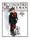 """""""Playing Detective """" Country Gentleman Cover  March 3  1923"""
