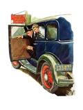 """Flat Tire  Flat Evening ""November 24  1934"