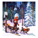 """""""Dog Sled """"February 1  1937"""
