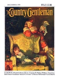 """Sleeping Through Santa's Visit "" Country Gentleman Cover  December 1  1928"