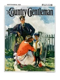 """""""First Day of School """" Country Gentleman Cover  September 1  1928"""