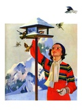 """Feeding the Birds ""February 1  1936"