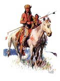 """Plains Indians ""March 3  1934"