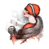 """""""Woman and Snowball """"January 17  1925"""
