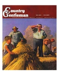 """Wheat Harvest "" Country Gentleman Cover  July 1  1943"