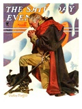 """George Washington at Valley Forge "" Saturday Evening Post Cover  February 23  1935"