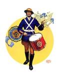 """""""American Legion Drummer """"October 7  1933"""