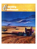"""Wheat Harvest "" Country Gentleman Cover  June 1  1942"