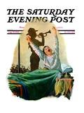 """Reveille "" Saturday Evening Post Cover  August 15  1931"