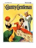 """""""Halloween Dance """" Country Gentleman Cover  October 1  1928"""