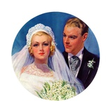 """Bridal Couple ""June 2  1934"