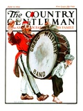 """""""Grand Military Band """" Country Gentleman Cover  June 23  1923"""