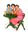 """Girls Sipping Sodas ""September 21  1935"