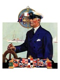 """Ship's Captain ""July 28  1934"