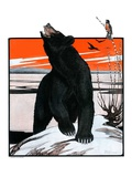 """Bear and Robin Welcome Spring ""March 14  1925"