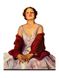 """Woman in Red Stole ""July 22  1933"