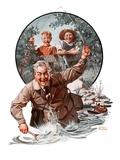 """Fisherman and Boys ""September 6  1924"