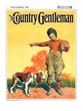 """Go Home  Boy! "" Country Gentleman Cover  November 1  1928"