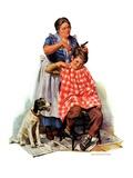 """""""Kitchen Haircut """"November 11  1933"""