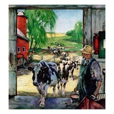 """Milking Time ""July 1  1946"